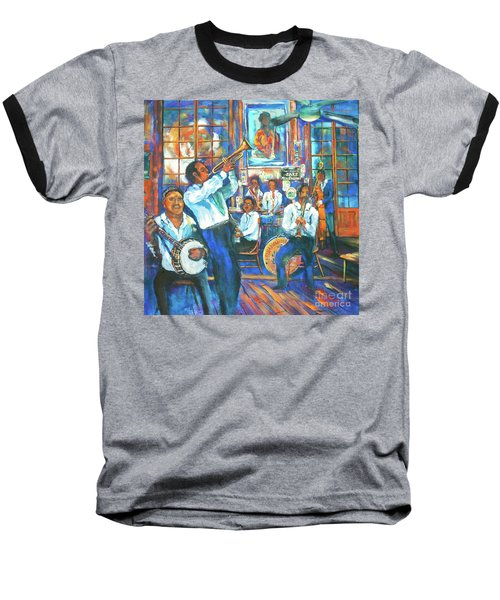 Preservation Jazz Baseball T-Shirt