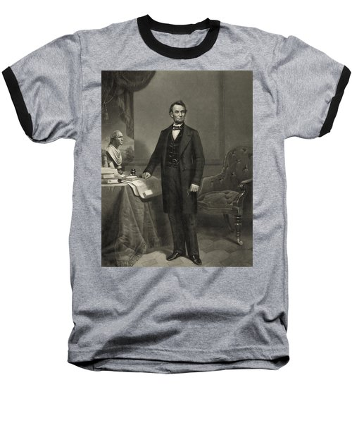 President Abraham Lincoln Baseball T-Shirt by International  Images