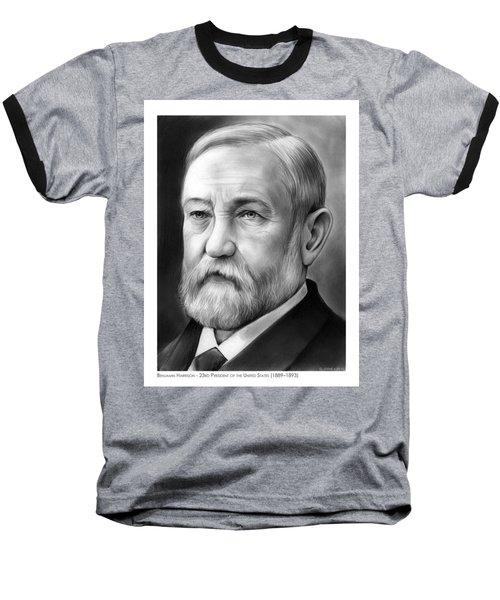 President Benjamin Harrison Baseball T-Shirt