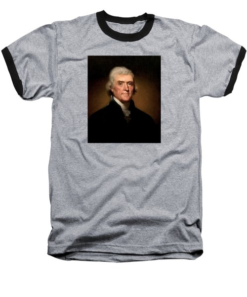 President Thomas Jefferson  Baseball T-Shirt