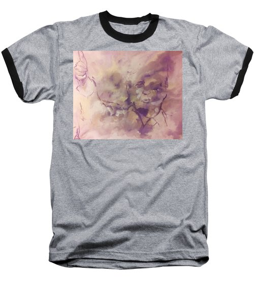 Baseball T-Shirt featuring the painting President Trump by Raymond Doward