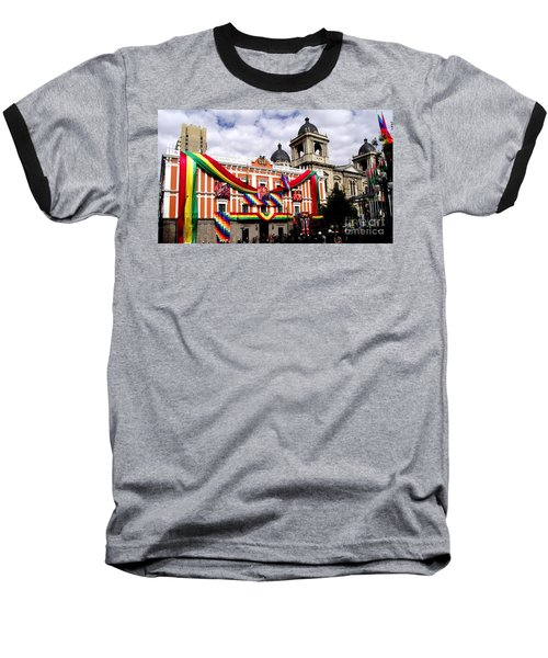 Presidential Palace La Paz, Bolivia Baseball T-Shirt