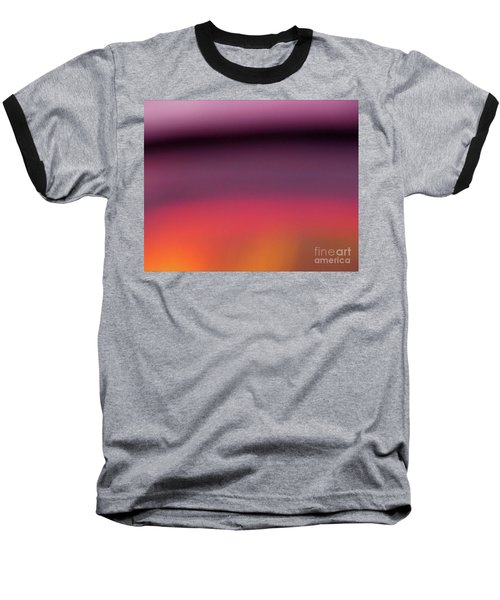 Baseball T-Shirt featuring the photograph Pretend Sunset by CML Brown