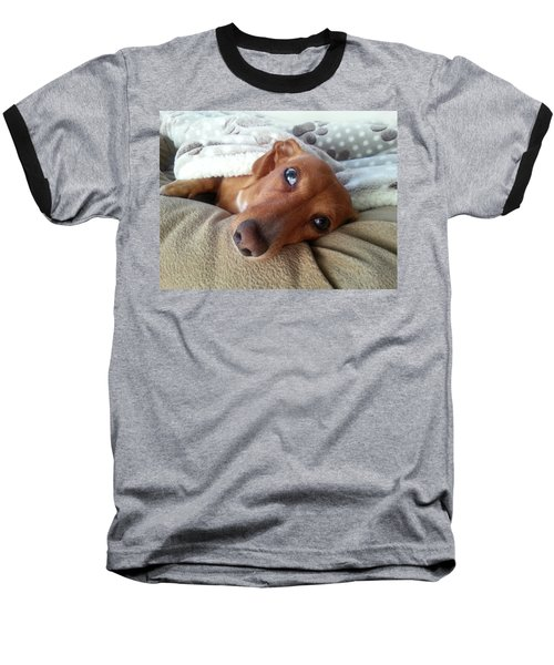 Pretzel By Chera Baseball T-Shirt