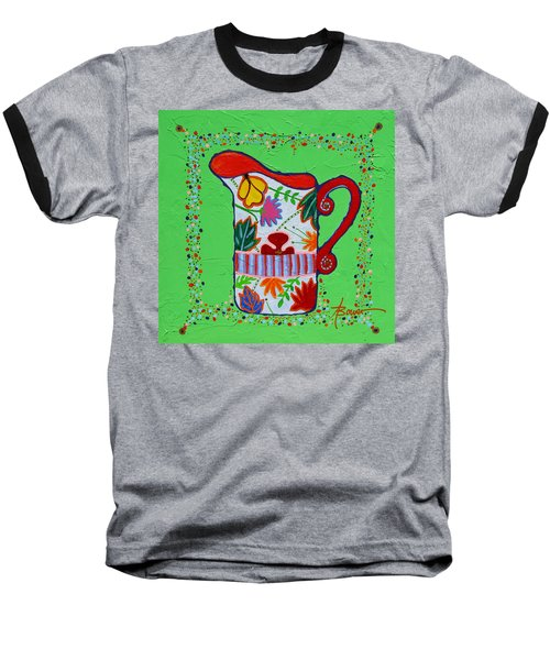 Pretty As A Pitcher Baseball T-Shirt