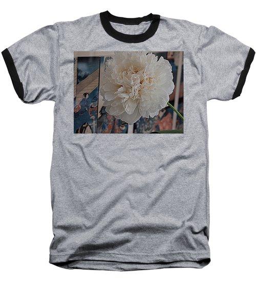 Baseball T-Shirt featuring the photograph Pretty As A Print by Nancy Kane Chapman