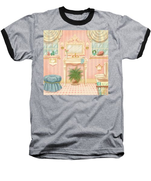 Pretty Bathrooms IIi Baseball T-Shirt