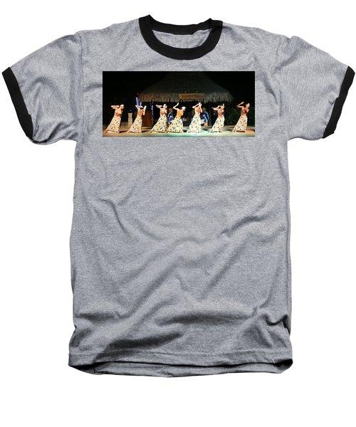 Pretty Dancers In Tahiti Baseball T-Shirt