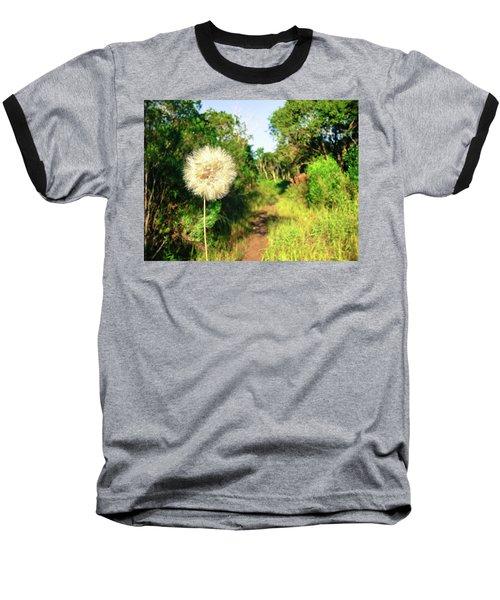 Pretty Dandelion In The Atlantic Forest Baseball T-Shirt