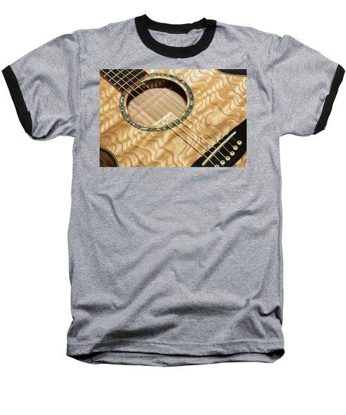 Pretty Guitar - Baseball T-Shirt