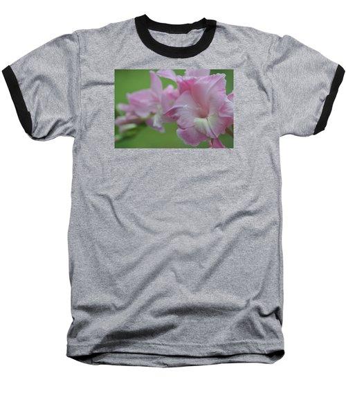 Pretty In Pink 2 Baseball T-Shirt by Teresa Tilley