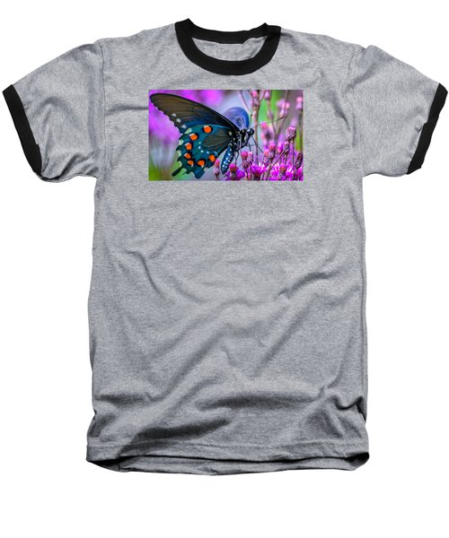 Baseball T-Shirt featuring the photograph Pretty In Pink 4 by Brian Stevens