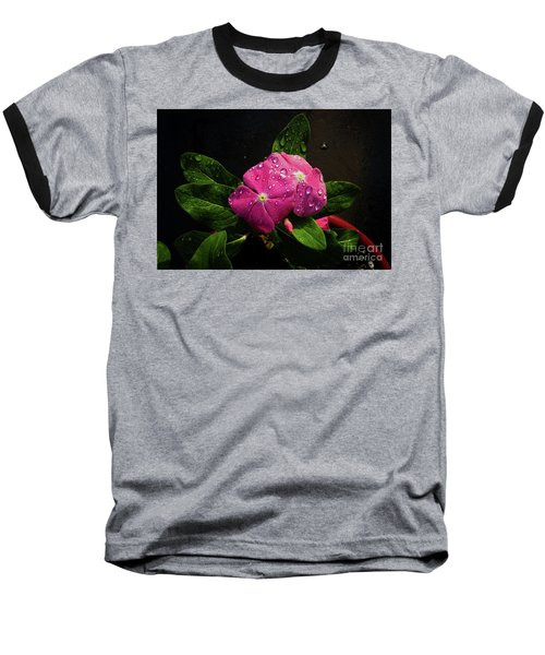 Baseball T-Shirt featuring the photograph Pretty In Pink by Douglas Stucky