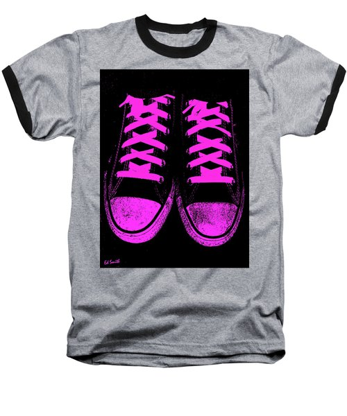 Pretty In Pink Baseball T-Shirt