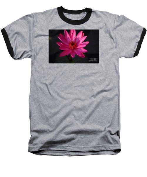 Pretty In Pink Baseball T-Shirt by John S