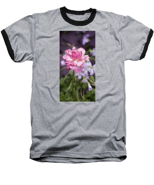 Pretty In Pink Baseball T-Shirt by Morris  McClung