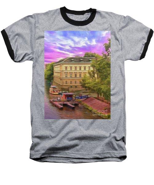Pretty On The River - Prague Baseball T-Shirt