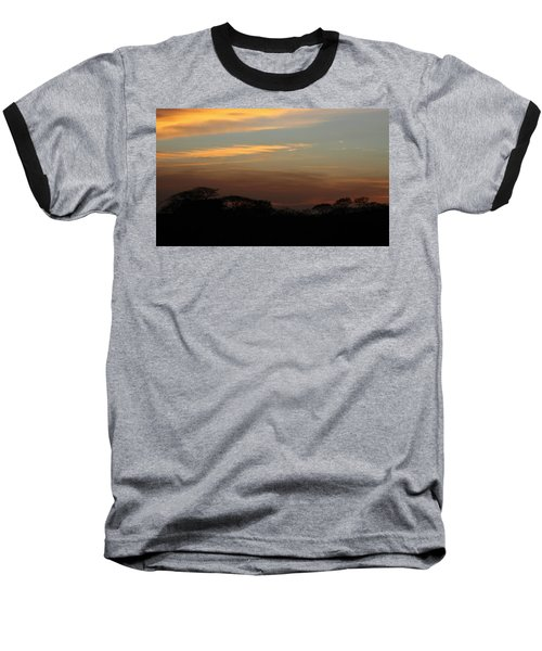 Baseball T-Shirt featuring the photograph Pretty Pastel Sunset by Ellen O'Reilly