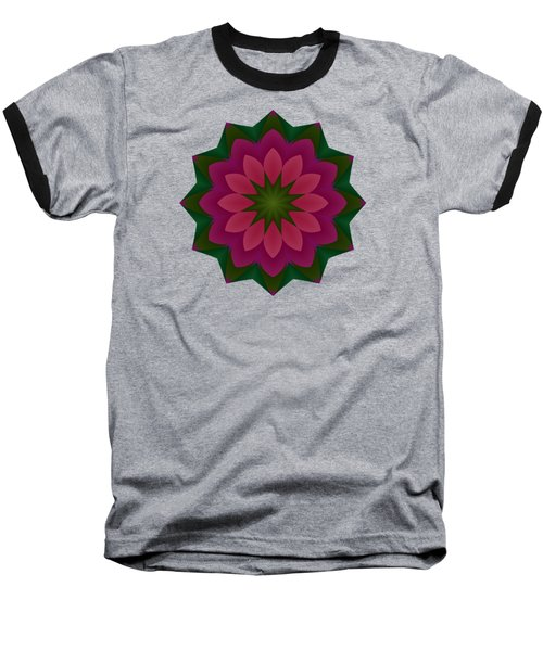 Pretty Pink Petals Baseball T-Shirt