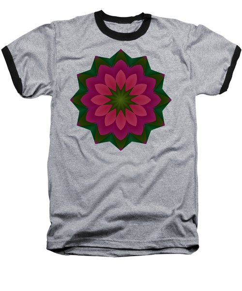 Pretty Pink Petals Baseball T-Shirt
