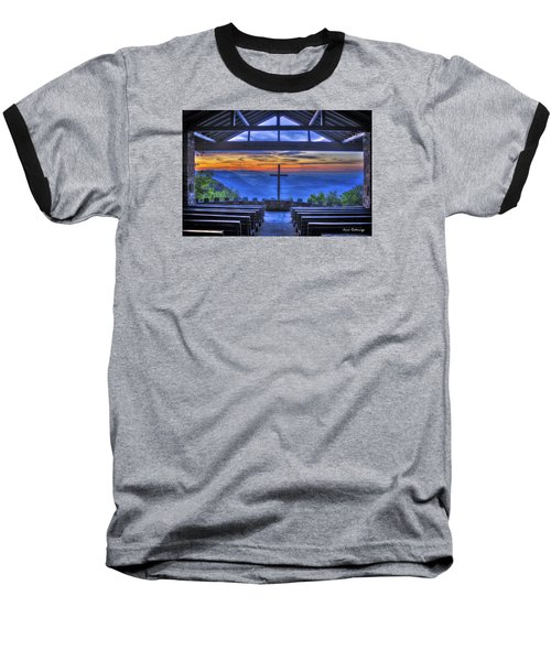 Pretty Place Chapel Sunrise 777  Baseball T-Shirt by Reid Callaway