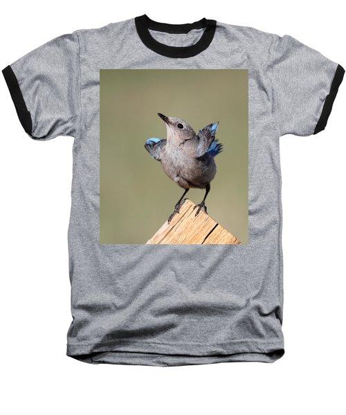 Pretty Pose Baseball T-Shirt