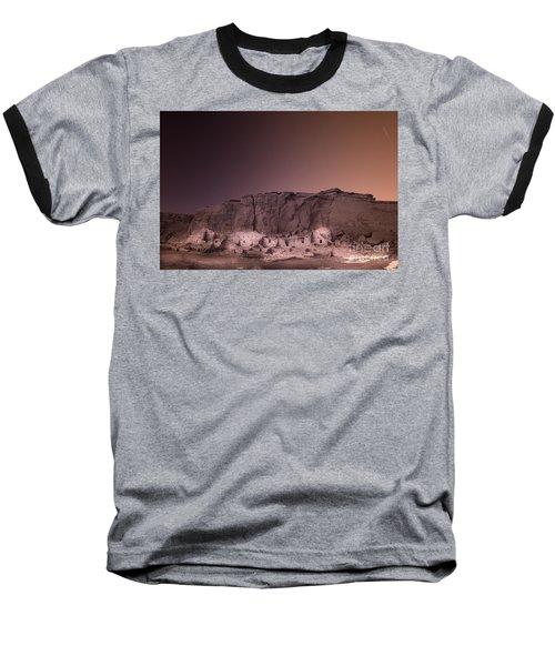 Pretty Village Chaco  Baseball T-Shirt by William Fields