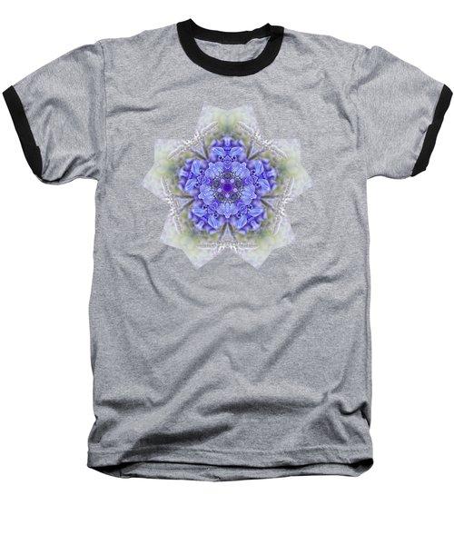 Pretty Wisteria Kaleidoscope By Kaye Menner Baseball T-Shirt