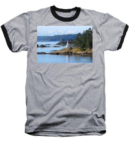 Prevost Island Lighthouse Baseball T-Shirt