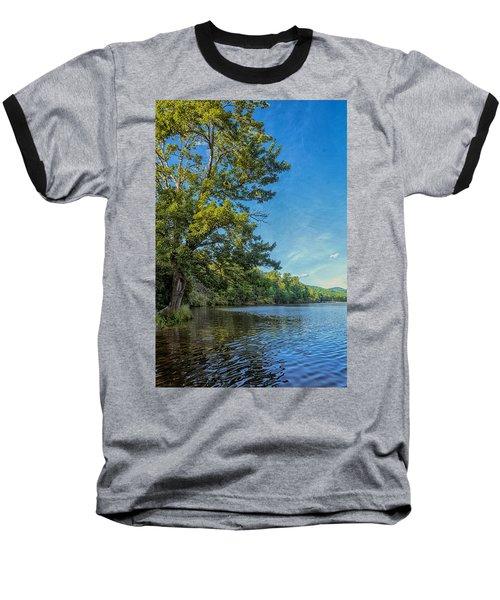 Price Lake Baseball T-Shirt by Swank Photography