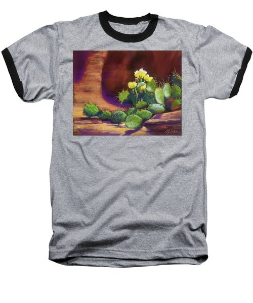 Pricklies On A Ledge Baseball T-Shirt