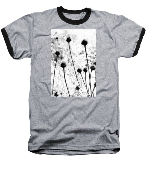 Baseball T-Shirt featuring the photograph Prickly Buds by Deborah  Crew-Johnson