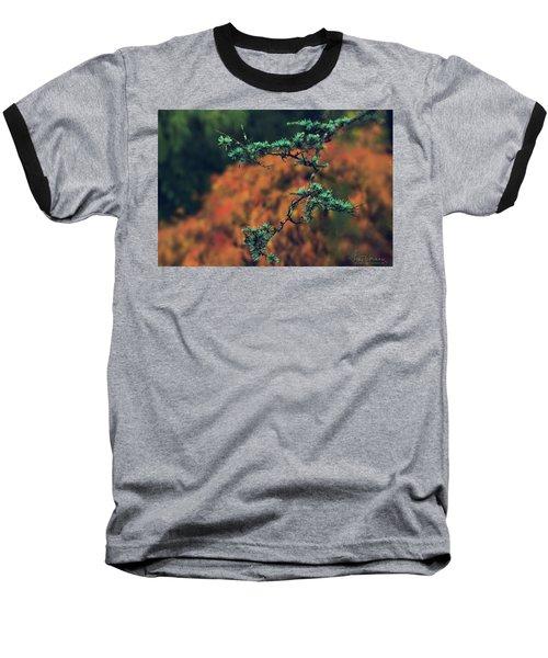 Prickly Green Baseball T-Shirt