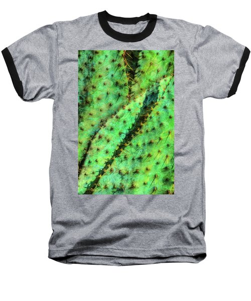 Baseball T-Shirt featuring the photograph Prickly by Paul Wear