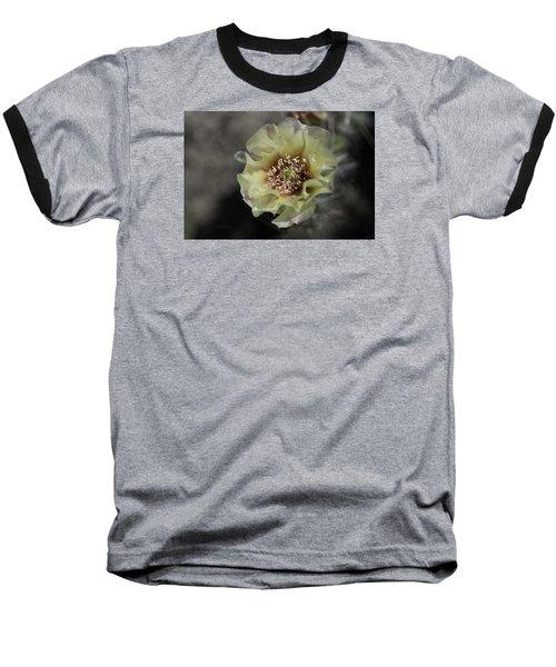 Prickly Pear Blossom 3 Baseball T-Shirt