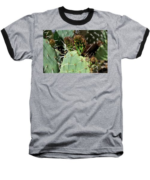 Prickly Pear Buds Baseball T-Shirt