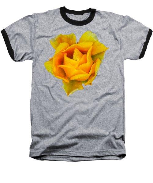 Prickly Pear Flower H11 Baseball T-Shirt