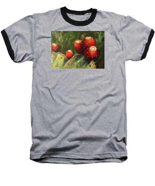 Prickly Pear IIi Baseball T-Shirt