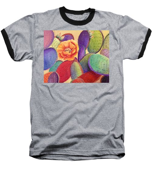 Prickly Rose Garden Baseball T-Shirt