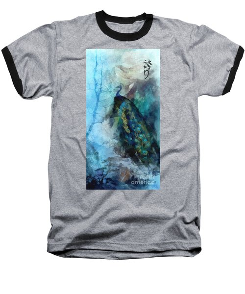 Baseball T-Shirt featuring the painting Pride by Mo T