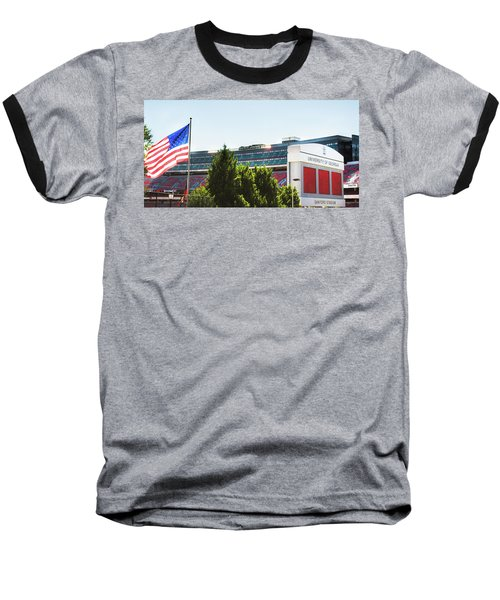 Baseball T-Shirt featuring the photograph Pride Of Athens by Parker Cunningham