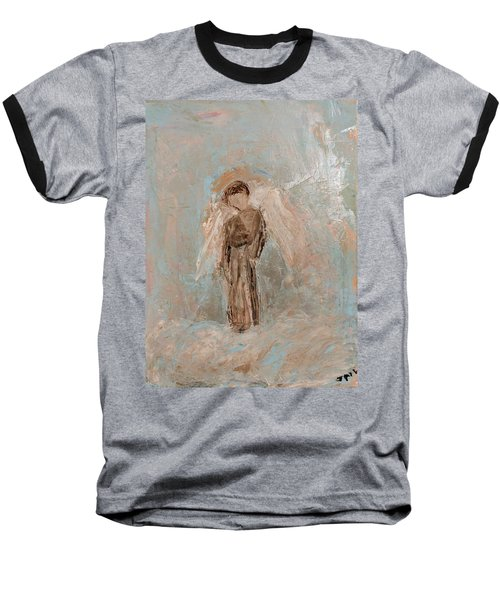Priest Angel Baseball T-Shirt