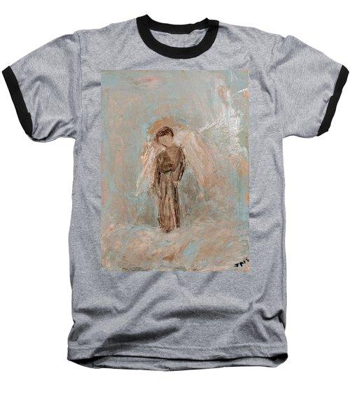 Priest Angel Baseball T-Shirt