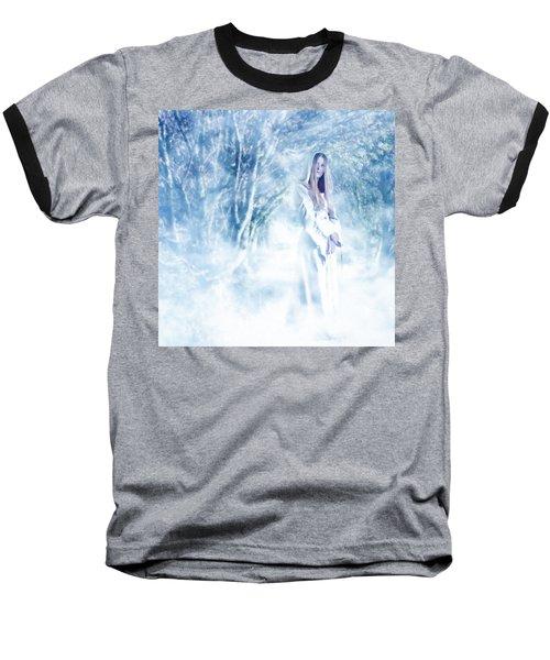 Priestess Baseball T-Shirt by John Edwards