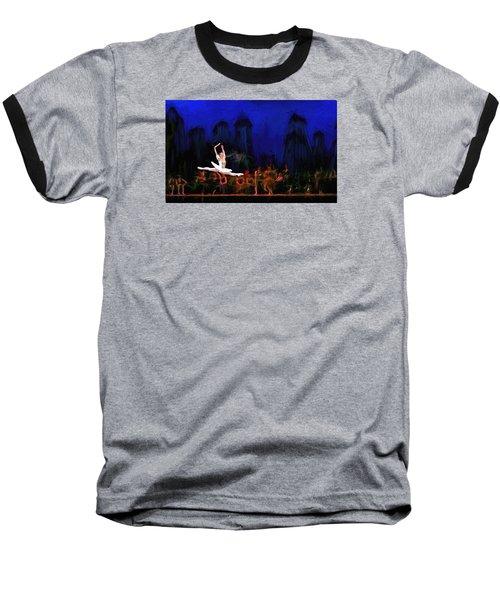 Prima Ballerina Baseball T-Shirt by Louis Ferreira