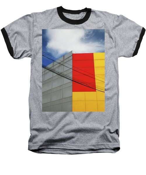 Baseball T-Shirt featuring the photograph Primarily 1 by Skip Hunt