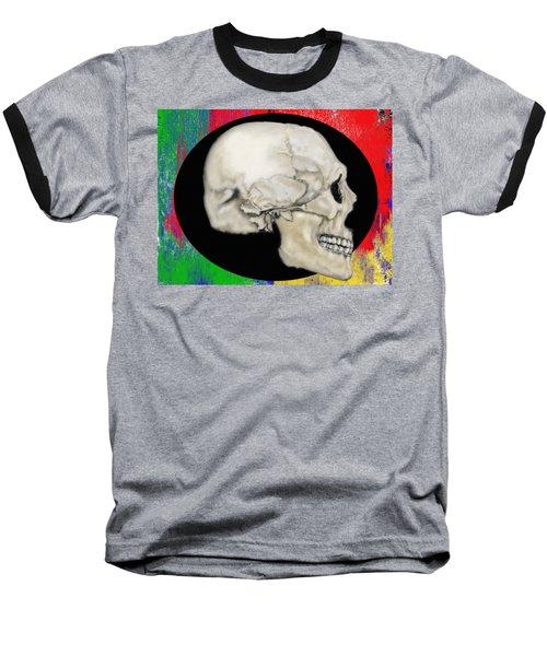 Primary Skull Baseball T-Shirt
