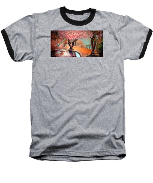 Baseball T-Shirt featuring the painting Primavera by Michael Rock