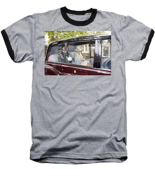 Prince Charles And Camilla Baseball T-Shirt by KG Thienemann