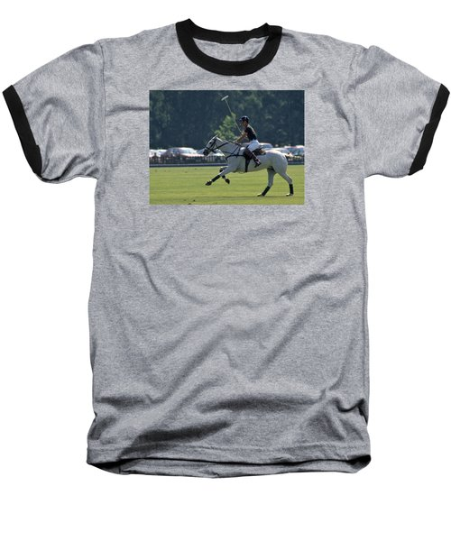 Prince Charles Playing Polo At Windsor Baseball T-Shirt